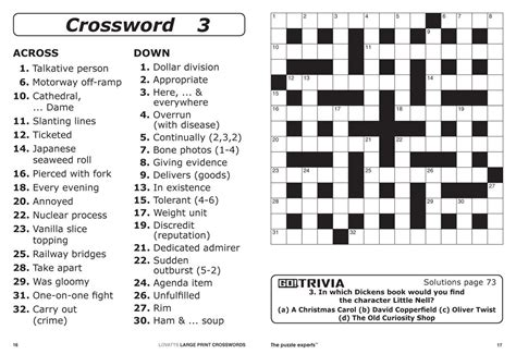 Printable Cryptic Crosswords Australia lovatts large print crosswords au magazine subscription