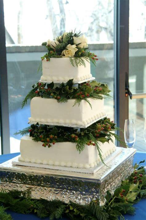 classic creations photo   week winter wedding cake
