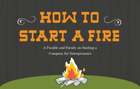 How To Start A In Fireplace by Entrepreneurs Start Ups How To Start A