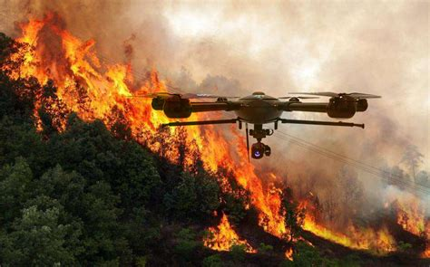 fire fighting drone drones for firefighting how can they be used by