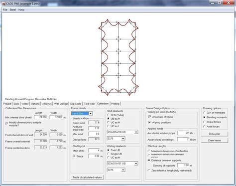 Sheet Pile Design Spreadsheet by Sheet Pile Wall Design Spreadsheet And Maintenance