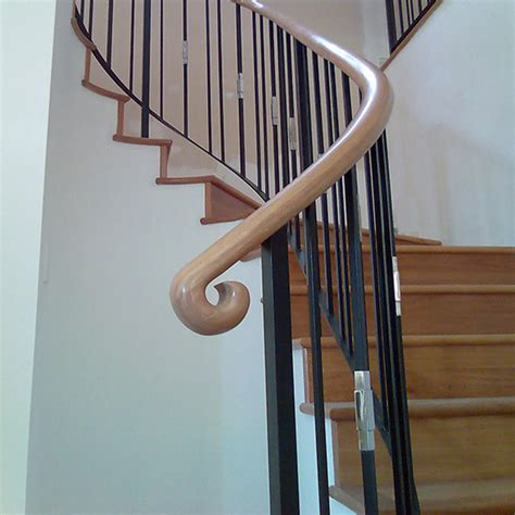 banister ends timber handrails wooden hand rail stair balustrades