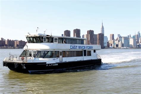 boat transport nyc we are an island people when will new york city truly