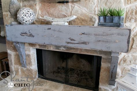 How To Hang A Mantle On A Fireplace by How To Build And Hang A Mantel On A Fireplace