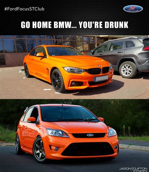 Ford Focus Meme - sorry but this color is reserved for ford focus st mk2