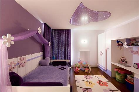 girls bedroom decor ideas awesome purple girls bedroom designs the viral story