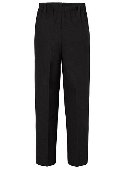 charcoal grey trouser women boys school half elasticated waist trousers charcoal