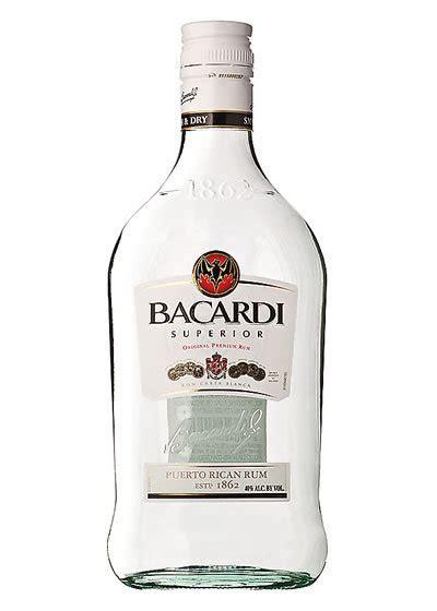 bacardi silver rum 375ml liquor barn