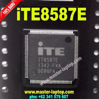 Ite 8587e By Chelin Part ic sio i o ite it8587e fxa 8587e 8587 tqfp128