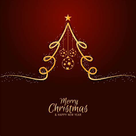 abstract merry christmas celebration elegant background   vectors clipart