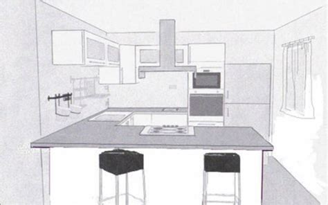 dessiner cuisine en  sofag