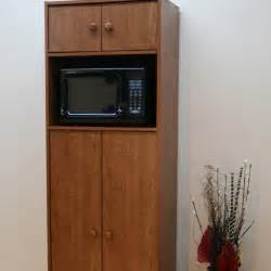 Kitchen Microwave Cabinet by Microwave Pantry Cabinet With Microwave Insert At Hayneedle