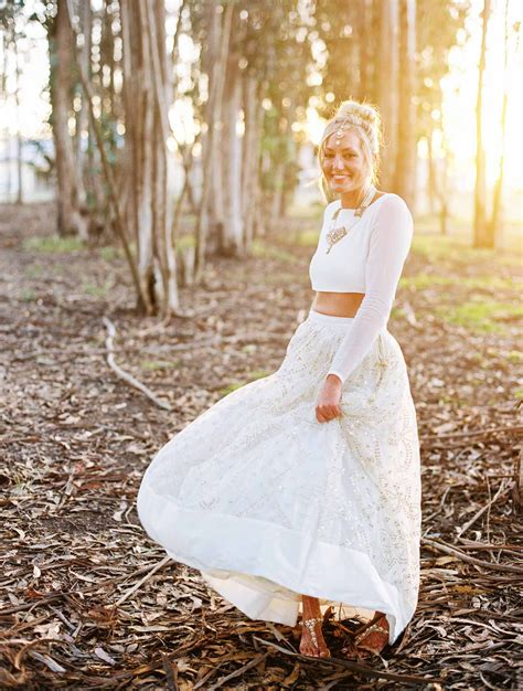 American Wedding Dresses by Bright Colorful Indian American Wedding