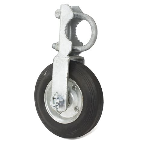 swing gate wheel gate wheel 1 5 8 quot 2 quot single swing gate 6 quot wheel chain
