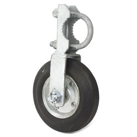 swing gate wheels gate wheel 1 5 8 quot 2 quot single swing gate 6 quot wheel chain