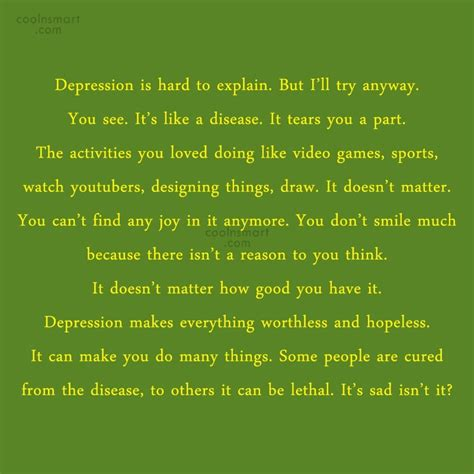 how to quote depression quotes sayings about being depressed images