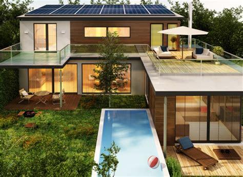 contoh desain rumah mewah idaman dengan kolam renang