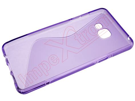 Tpu Samsung Galaxy A5 A510 funda violeta de tpu para samsung galaxy a5 2016 a510
