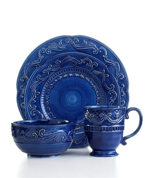 fitz and floyd dinnerware the blue and the beautiful pinterest