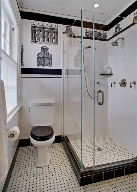 Black And White Bathroom Paint Ideas 129 Best Small Bathroom Designs Ideas Images On Pinterest Bathrooms Master Bathroom And