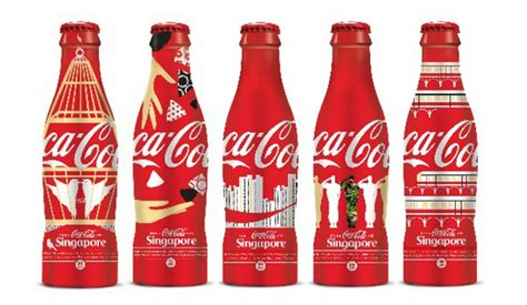 coca cola releases sg aluminium bottles