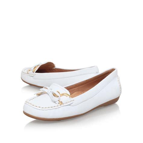 are carvela shoes comfortable carvela kurt geiger cally in white lyst