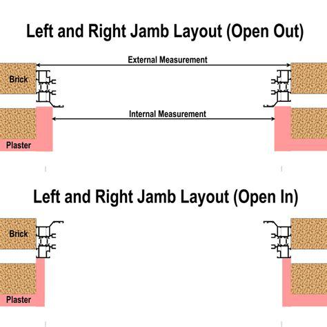 Door Jamb Size by Door Framing Measurements Door Lining Measurements