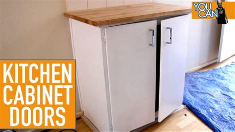 How To Upgrade Kitchen Cabinets | how to upgrade kitchen cabinet doors youtube