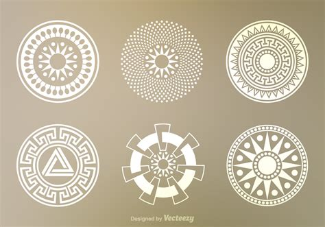 circle pattern in vector free crop circles vector download free vector art stock