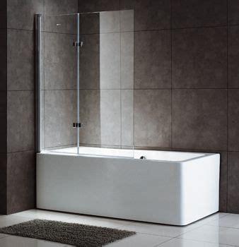 bi fold bath shower screen frameless glass bathtub screen shower screen bi fold screen bt236a bathroom reno