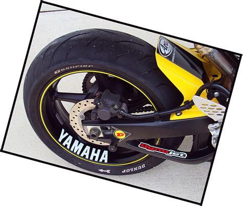 Aufkleber Yamaha Fzr 600 by Yamaha Decal Sticker Fz6r Fzr R6 R1 600 Fz8 Fazer