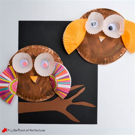Paper Plate Owl Craft - best 25 mayflower crafts ideas on