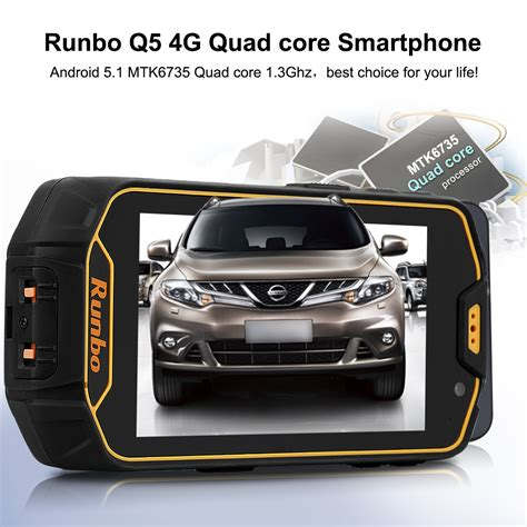 Runbo Q5 4g Ram 2gb Rom 16gb 13mp Lolipop Runbo H1 X6 F1 Xp7 runbo q5 4 5 quot 4g lte rugged smartphone android 5 1 2gb 16gb dual sim ebay