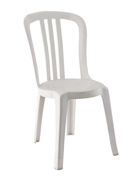 White Bistro Chair White Plastic Bistro Chair Rental Reception Banquet Ultimate Events