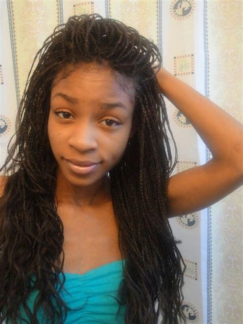 box braids with loose ends styles box braids with wavy ends braids pinterest hair