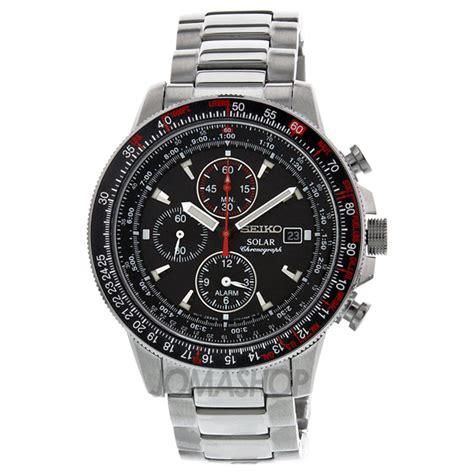 Seiko Solar Chronograph Stainless seiko prospex solar black chronograph stainless steel