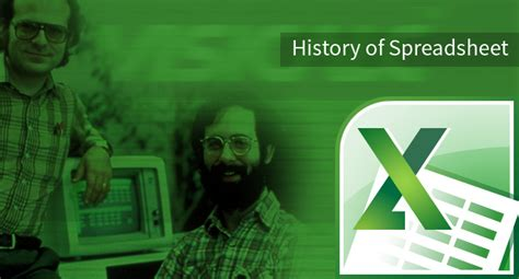 History Of Spreadsheets by History Of Microsoft Excel