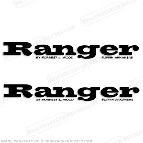 bass boat windshield graphics ranger windshield decals any color