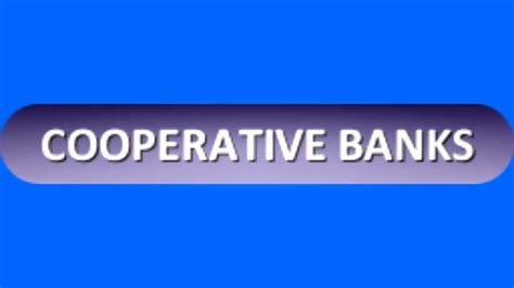 cooperative bank cooperative banks in india