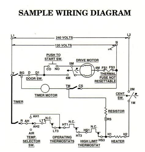 kenmore dryer motor wiring diagram dryer free
