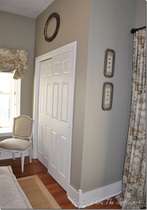 French Country Cottage Style Decorating - peeking thru the sunflowers november 2012