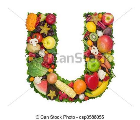 u letter fruit images de alphabet sant 233 lettre u fait de frais