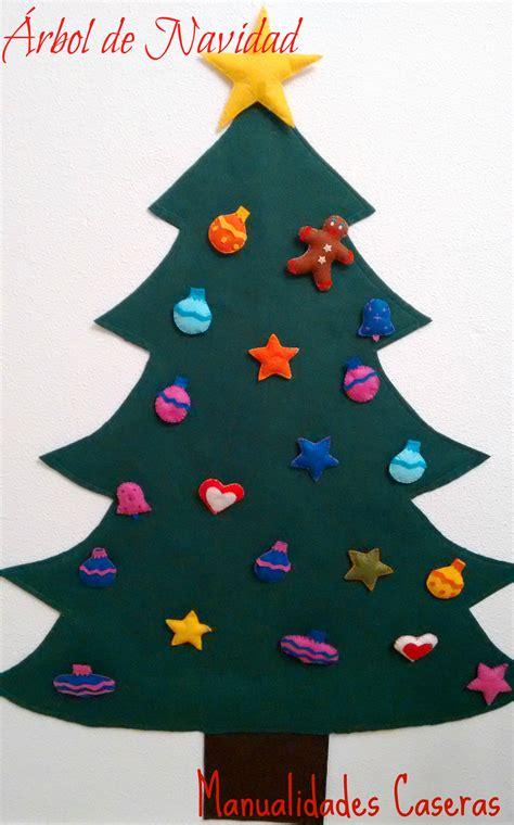 193 rbol de navidad de fieltro manualidades caseras inma
