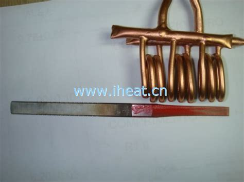 induction heat knife three parallel induction coils for heating knife induction heating expert