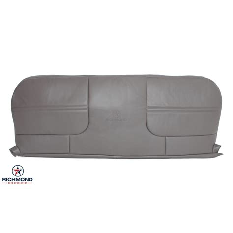 vinyl bench seat repair 2002 ford f 550 xl vinyl bottom bench seat cover gray