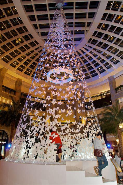christmas tree lighting installed bellavita installation their large central flickr
