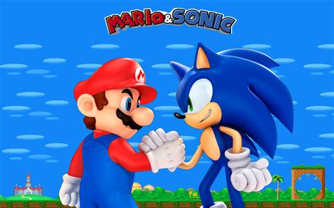 Mario and Sonic Unite by earthwormjimfan on DeviantArt