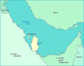 middle east map your child learns qatarmap
