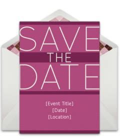 Free Save The Date Online Cards Announcements Punchbowl Birthday Save The Date Templates Free