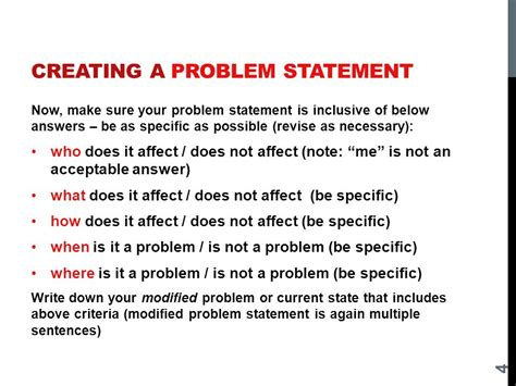 How To Make Statement Of The Problem In Research Paper - problem solving in project management ppt